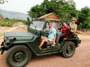 1-DAY HOI AN JEEP TOUR TO BHO HONG AND CO TU VILLAGE