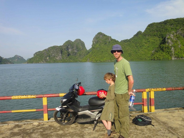Image result for explore cat ba hai phong by motorbike