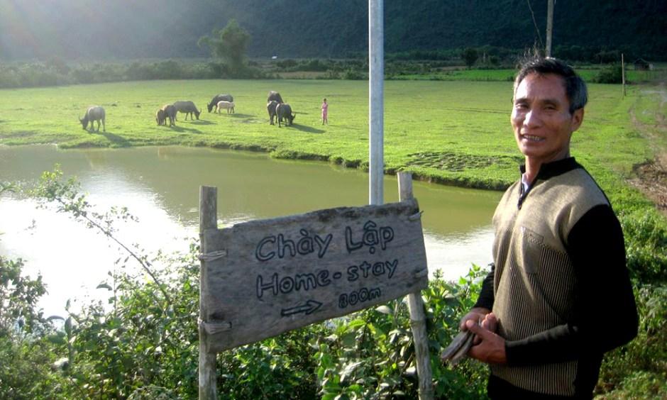 Phong Nha Adventure Homestay Tours at Chay Lap Village