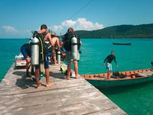 Cambodia Diving & Beach Tour: Amazing Cambodia Scuba Diving Nearby Islands