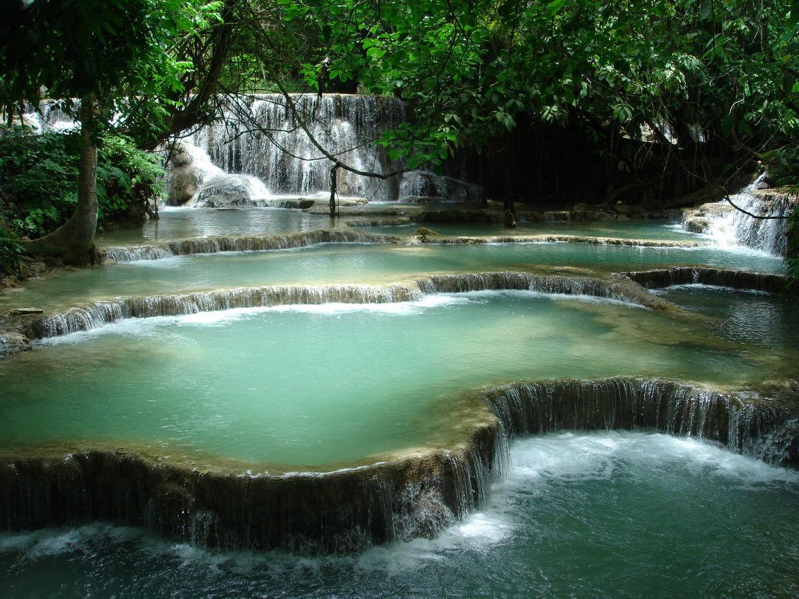 LUANG PRABANG EXCURSION TO KHOUANG SI WATERFALL