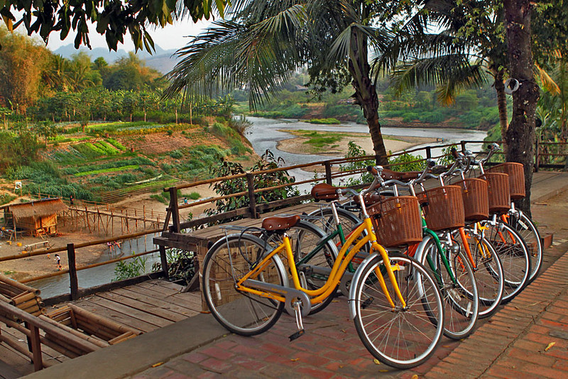 HALF DAY CYCLING TOUR IN LUANG PRABANG
