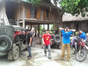 VIETNAM MOTORCYCLE TOUR FROM HANOI TO MAI CHAU