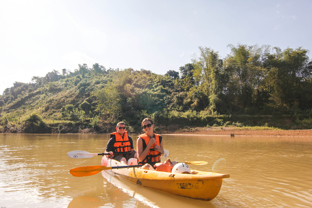 LUANG PRABANG KAYAKING TRIPS ON NAM KHAN RIVER