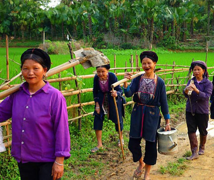 VIETNAM TREKKING TOUR FROM WEST TO EAST