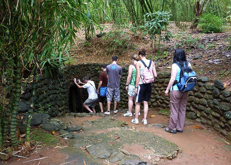 HUE GROUP TOUR TO DMZ - VINH MOC TUNNELS