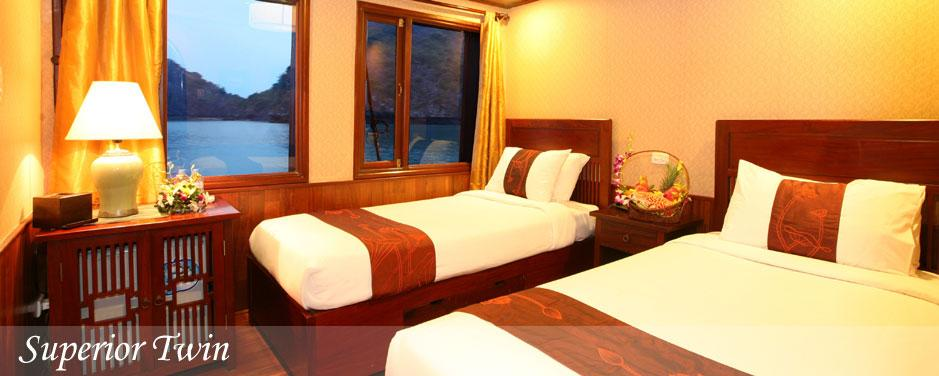 Halong Bay Cruise Vacation on Indochina Sails for 3 Days / 2 Nights