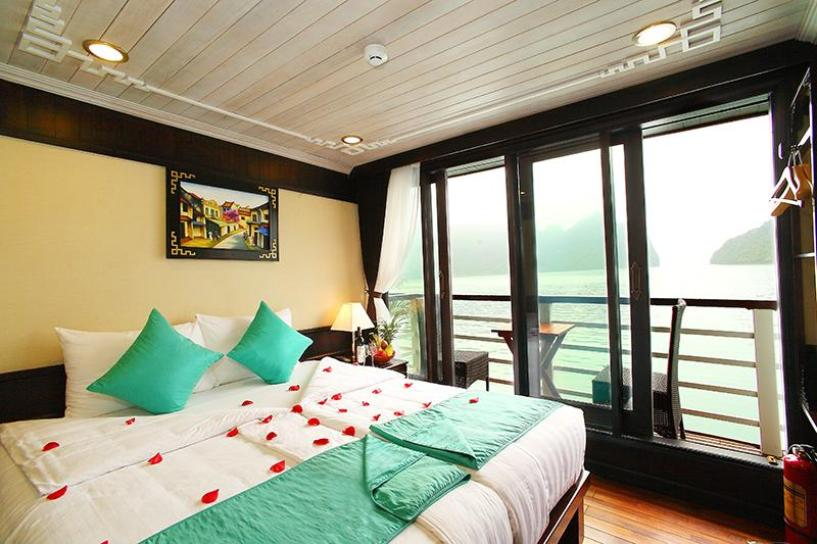 Halong Glory Legend Cruise Holiday for 3 Days / 2 Nights