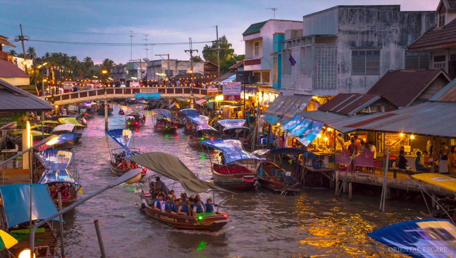 BANGKOK DISCOVERY TOUR AT FLOATING MARKET
