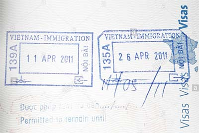 The immigration seal