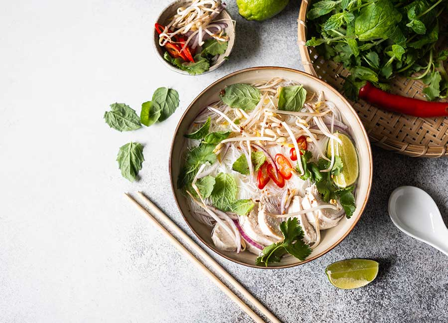 Traditional vietnamese soup