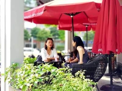 ハイランドコーヒー_サラ_トゥーティエム_2区_ホーチミン_Hiland Coffee_ThuThiem_Dist2_HCMC_Vietnam