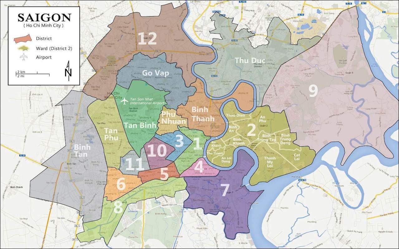 Vietnam_hochiminh_Map_ベトナム_ホーチミン市_地図_エリア
