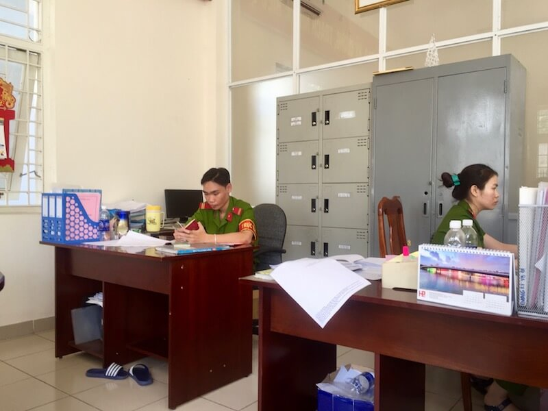 居住登録-PinkBook-HCMC-Vietnam