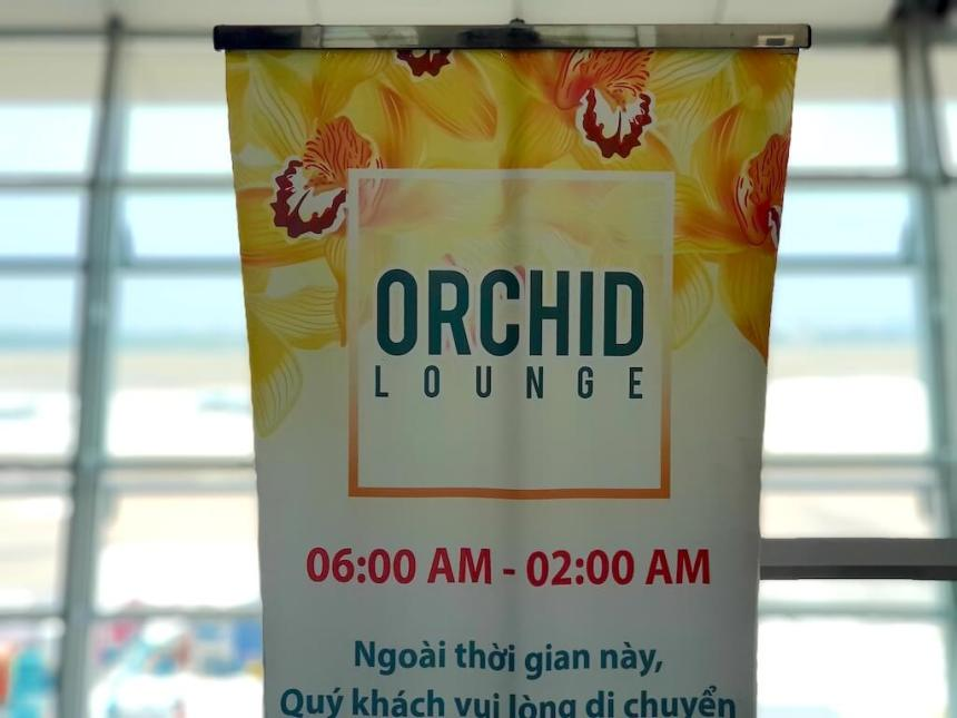 タンソンニャット国際空港_国際線ラウンジ_オーキッド_Tan Son Nhat International Airport_HCMC_Vietnam_Orchid Lounge