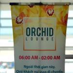 「オーキッドラウンジ(ORCHID LOUNGE)」タンソンニャット国際空港のラウンジ