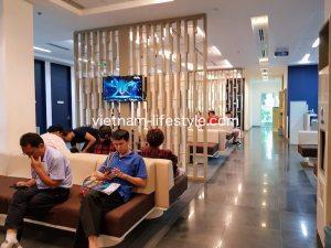 ベトナム_ホーチミン_7区_FVホスピタル_待合室_Vietnam_Hochiminh-Dist7_FV Hospital_waiting place