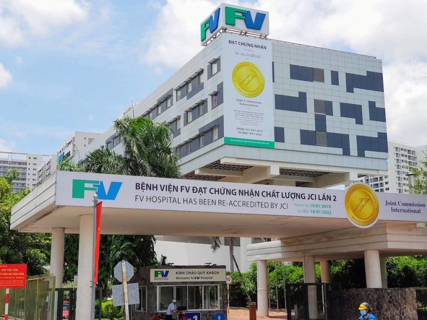 ベトナム_ホーチミン_7区_FVホスピタル_外観_Vietnam_Hochiminh-Dist7_FV Hospital_appearance