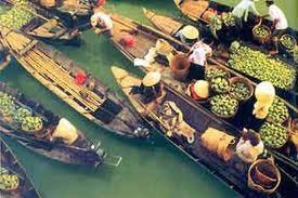 Cai Rang Floating Market Can Tho - CAI RANG FLOATING VILLAGE