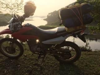 Short North-centre Vietnam motorbike tour to Thac Ba