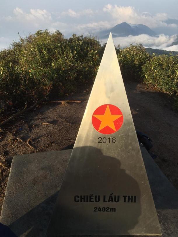 Chieu Lau Thi Mountain peak in Hoang Su Phi, Ha Giang Province.