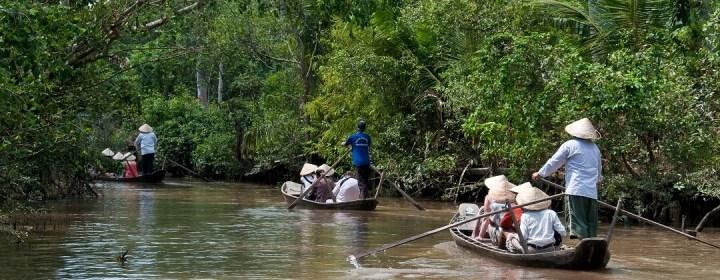 Boottocht - Mekong Delta, Vietnam