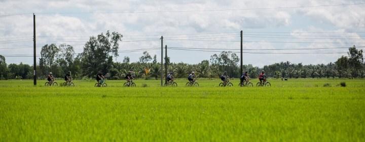Fietstocht - Mekong Delta, Vietnam