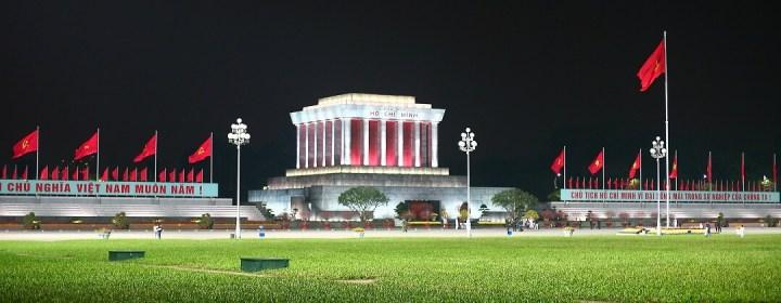 Ho Chi Minh Mausoleum - Hanoi, Vietnam