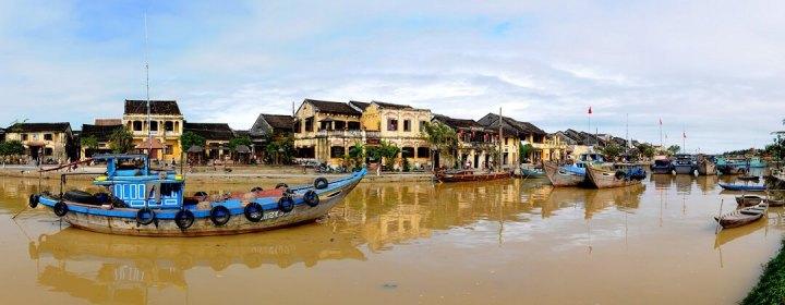 Thu Bon River - Hoi An, Vietnam