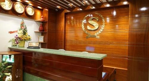 Receptie Hotel M01 - Danang, Vietnam