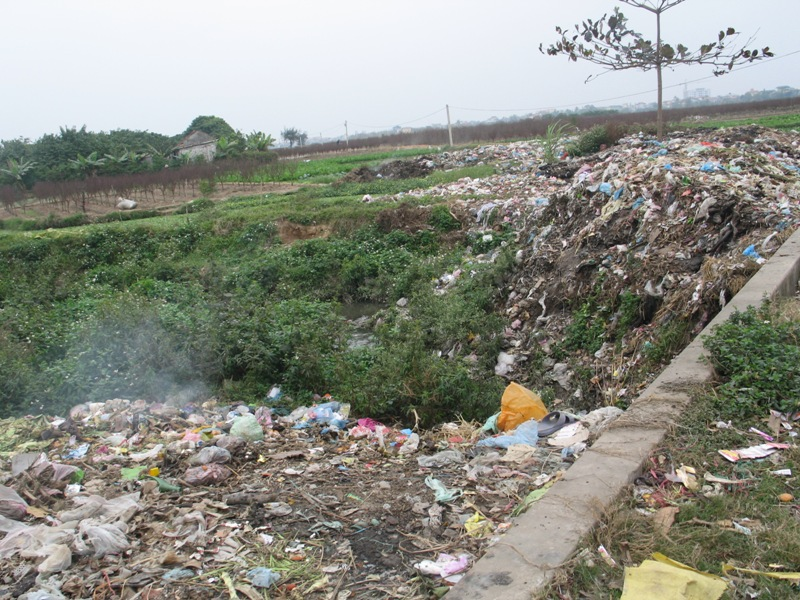 Land Pollution And Problems Posing In Thai Nguyen City Vietnam