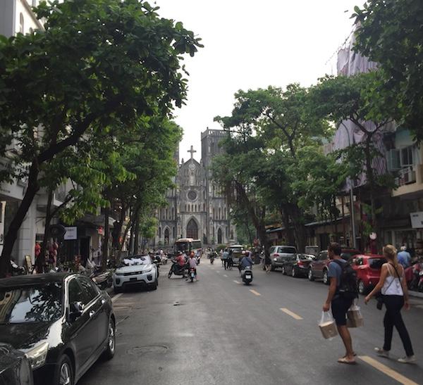 ニャートー ベトナム ハノイ 旧市街
