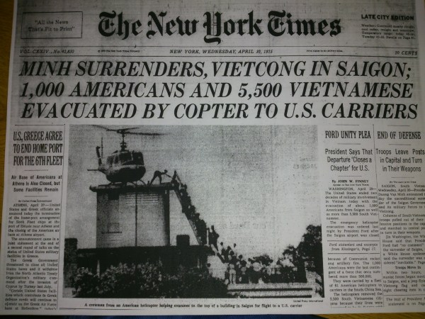 Saigon Evacuation   The Vietnam War & American Society ...
