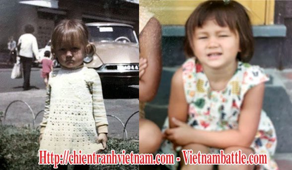 Mrs Leigh Boughton Small when she was a little girl looks like as Nguyen Thi Phuong Mai lost her mother in operation babylift 1975