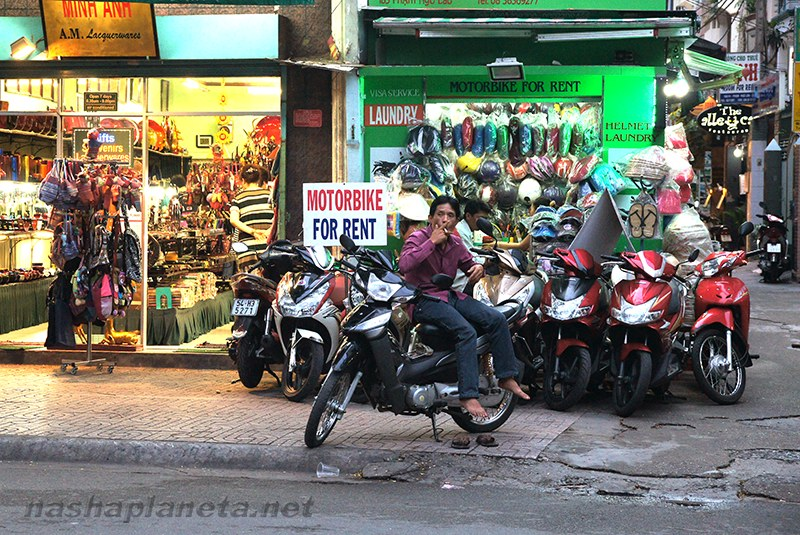 Аренда мотобайков в Нячанге