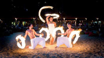 Fire Show коллектива с Филиппин
