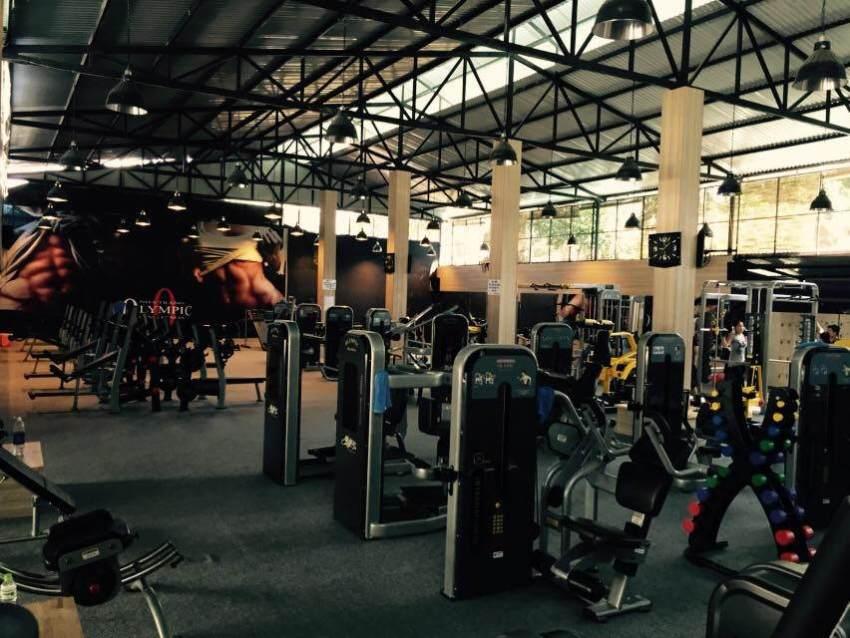Тренажерный зал в Нячанге Olympic Gym & Fitness