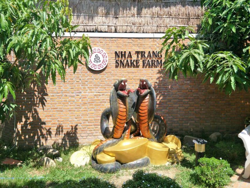 Snake Farm in Nha Trang