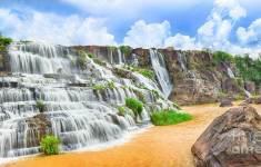 Водопад Понгур возле города Далат