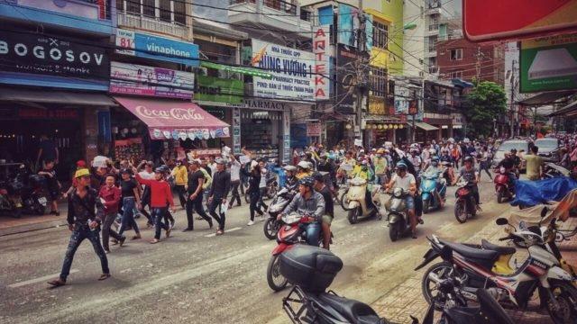 В Нячанге и других городах Вьетнама прошли антикитайские митинги