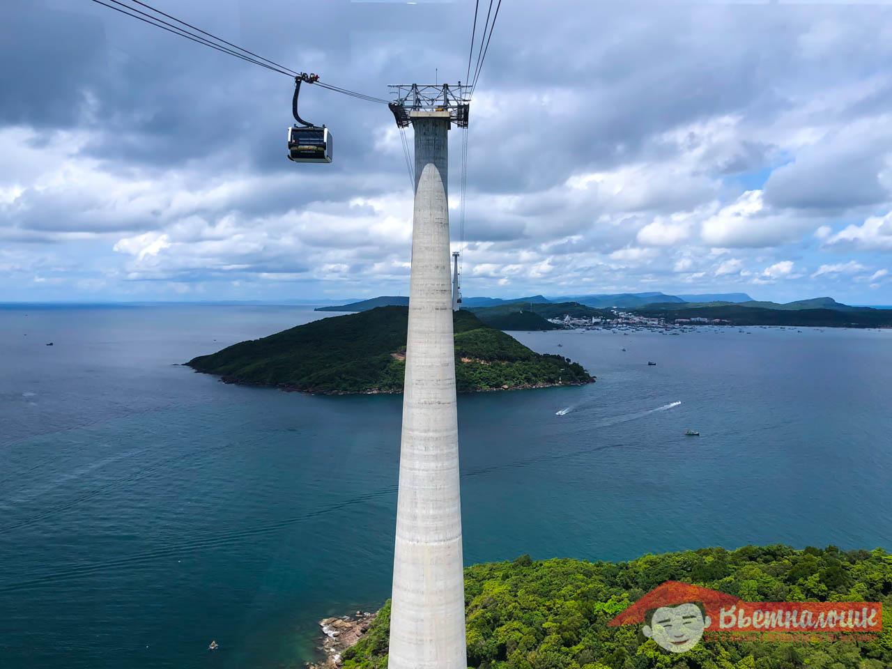 Канатная дорога острова Фукуок: как добраться, стоимость, расписание