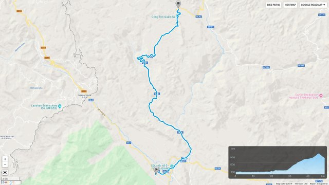 ha giang quan ba cycling route