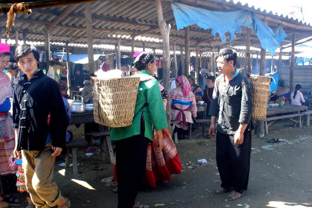 bac ha market, lao cai, vietnam