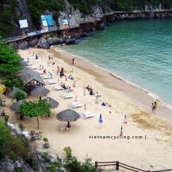 cat co beach, cat ba island