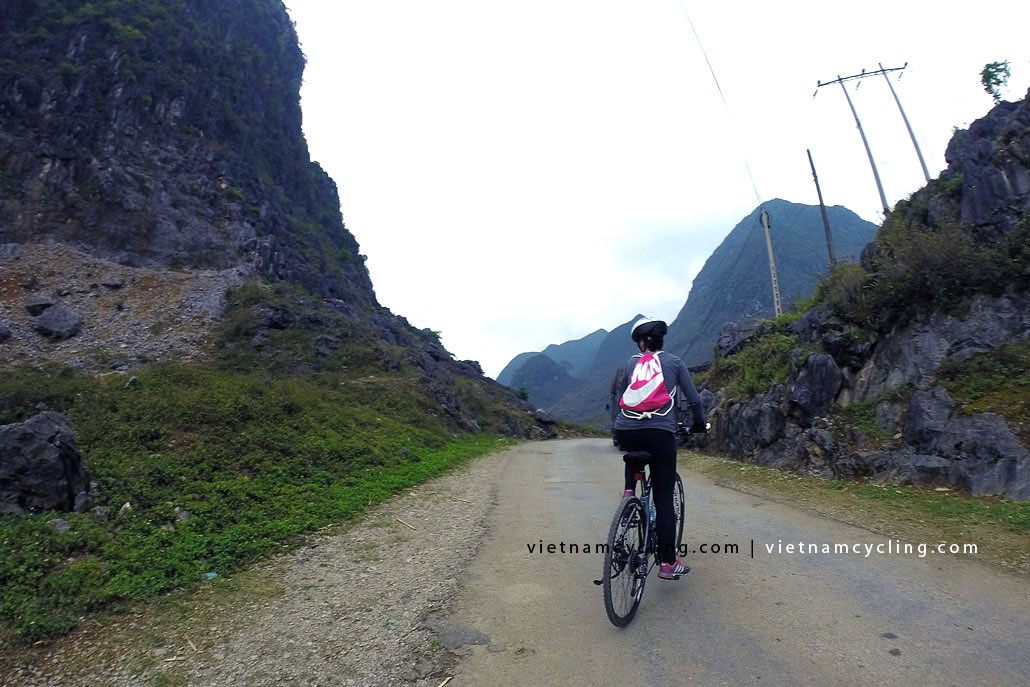 bike, cycle ha giang vietnam 7