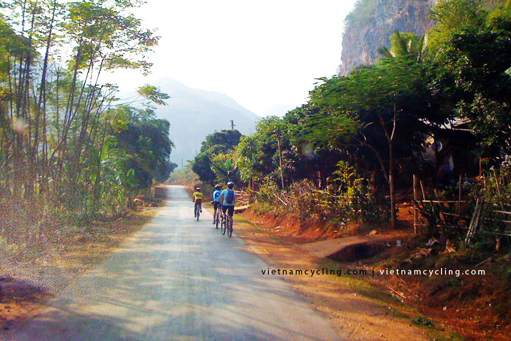 bike cycle mai chau vietnam 7