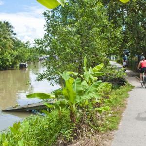 cycling mekong delta, vietnam