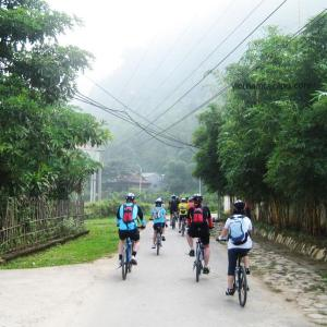 cycling north west vietnam