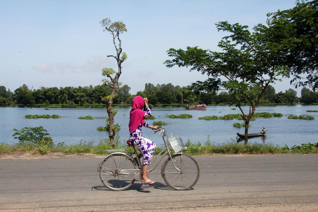 cycling mekong delta, an giang