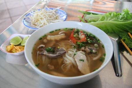 Hu Tieu Nam Vang or Phnom Penh Noodle Soup